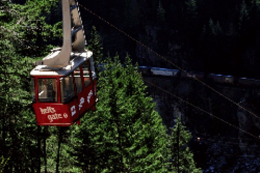 Hell's Gate Airtram at the Fraser Cayon