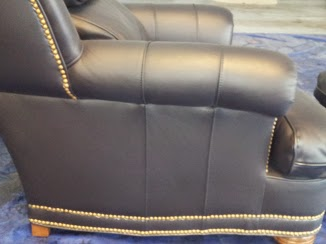 Top coat gives the leather the finished and gleaming look that makes it look new again
