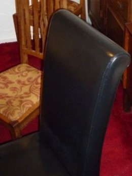 Finished look after leather repairs, restoration and leather furniture dye!