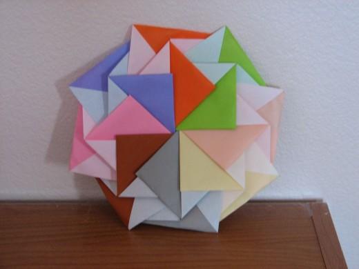 Complex pinwheel.