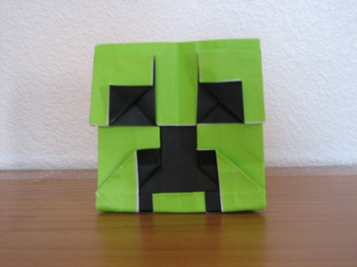 Minecraft creeper.