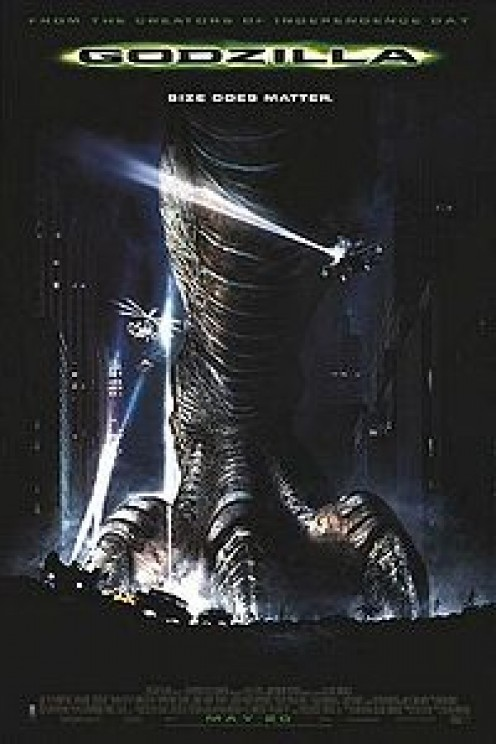 Movie poster for Godzilla the remake