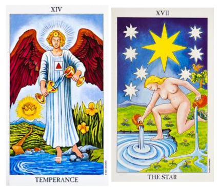 Temperance and the Star