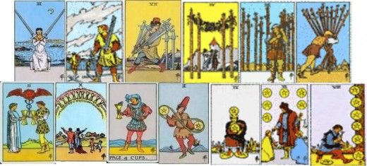 The 13 Stage cards