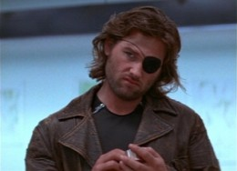 Snake Plissken before entering the New York prison