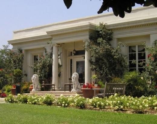 Rose Garden Tea Room In Pasadena