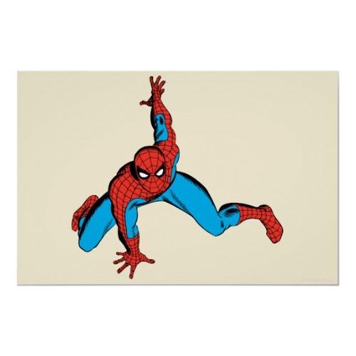 Spiderman wall clinging