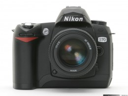 I would really love an SLR like this Nikon d70 Digital Camera