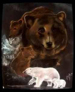 Bear, Spirit Totems