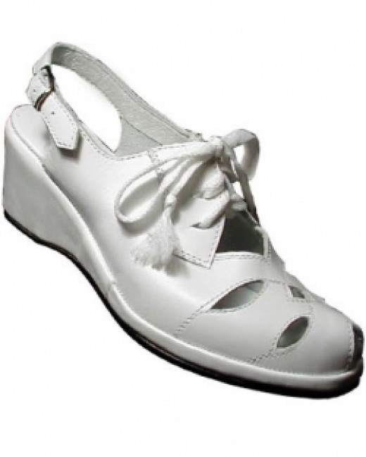 1940's Style Slingback Sandal