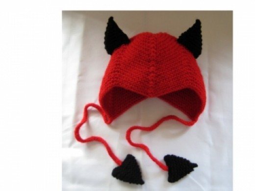 Another example of my work: one of the Halloween hats