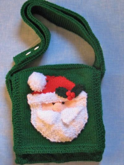 Santa shoulder bag