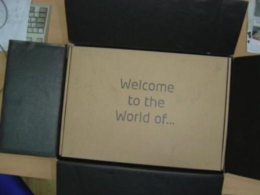 Opening Drobo Box