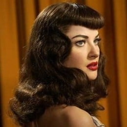 Betty Page Signature Hairstyle 1950s