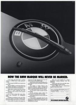 BMW April Fools Day Wiper Marketing