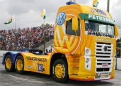 Volkswagen truck Constellation Pace car racing