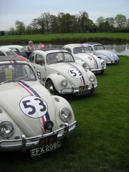 Volkswagen beetles bug 53 herbie cars