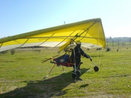 Powered Hang Glider harness