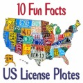 10 fun facts: US license plates