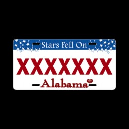 "Scottie Roberson from Hunstville, Alabama received $19,000 in fines because of his ""XXXXXXX"" plates."