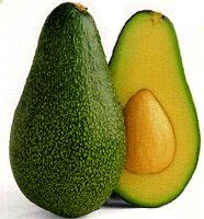 The Fuerte variety of avocado