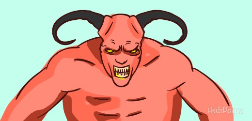 Demons come straight from hell and require an exorcism to remove.