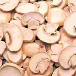 Fresh Button Mushrooms Sliced