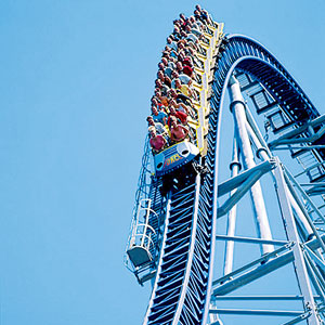 Cedar Point is the roller coaster capital of the world!