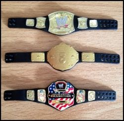 Mattel WWE Elite figure belts on Flickr by simononly