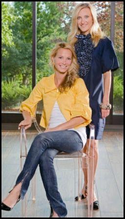 Rachelle Copeland and Emily Ironi of Alexis Hudson
