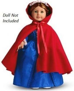 American Girl Felicity's Cardinal Cloak