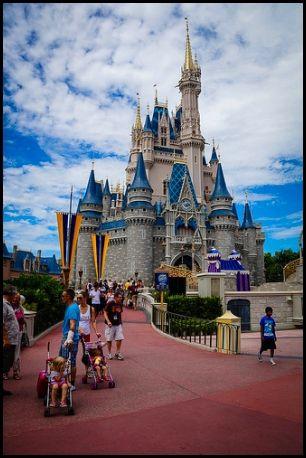 Cinderella's Castle, Magic Kingdom, Walt Disney World, Orlando, Florida