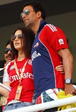 Akshay in IPL T20