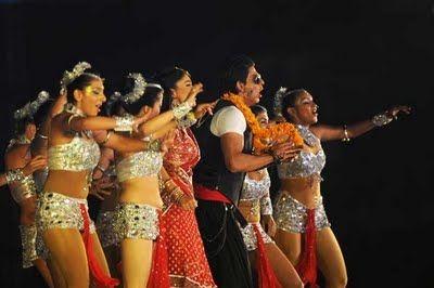 A dance programme in IPL T20