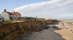 The Sea is eating Happisburgh