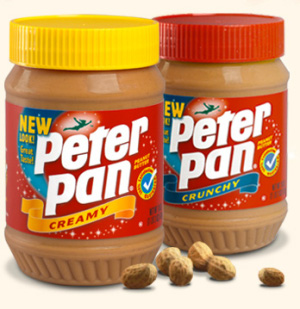 Peanut butter is so tasty, but so full of fat and calories -- dang it!