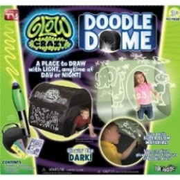 glow crazy doodle dome instructions
