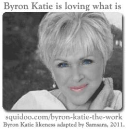 Doing Byron Katie's The Work