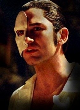 Gerard Butler as the Phantom