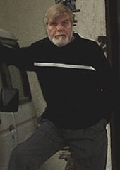 George Lutz and his family spent 28 days in the house in Amityville.