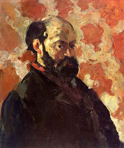 Self portrait 1875