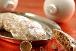 'Cake of life' - sweet and spicy German lebkuchen appear in many different shapes and sizes, but most often as small iced cakes.
