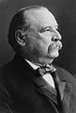 Grover Cleveland - very likely the only President who will ever serve two non-consecutive terms.