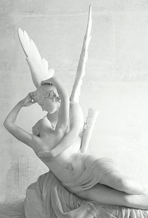 Cannova's Cupid and Psyche.