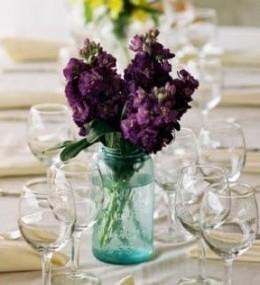 Purple Centerpiece From bridalbuds.com