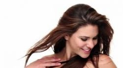 Woman Flinging Hair For Attention
