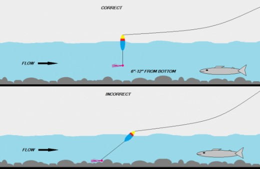 How to float fish for steelhead hubpages for Bobber fishing for steelhead