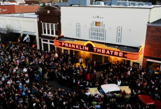 The Grand Reopening Of The Franklin Theatre, June 2011