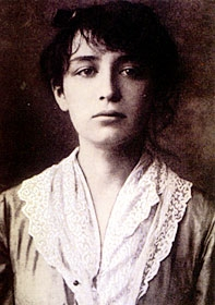 A Young Camille Claudel