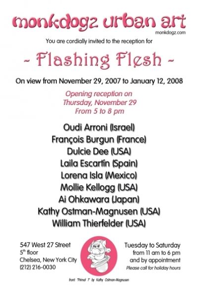 """Flashing Flesh"""